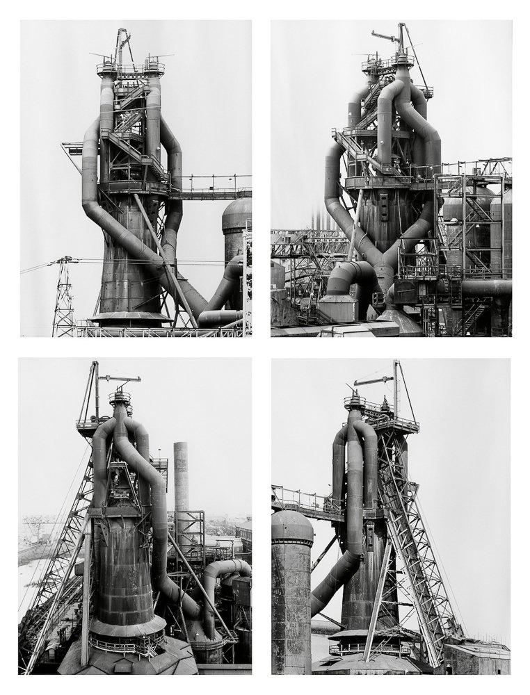 Cours de photographie d'architecture - Exemple des Becher
