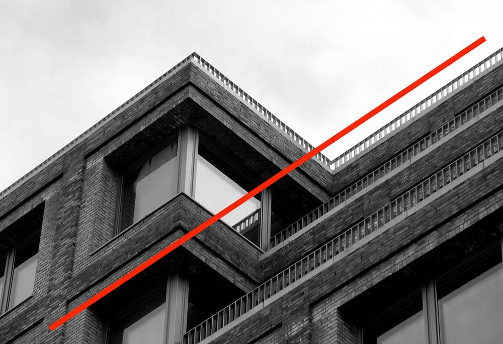 Cours de photographie - Exemple de lignes de force